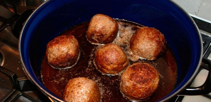 De lekkerste gehaktballen van de liberije
