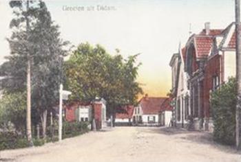 Hoofdstraat begin 1900