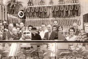 Opening slagerij jaren '60